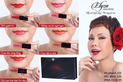 Elyza son kem lì Hương Thị Việt Hương